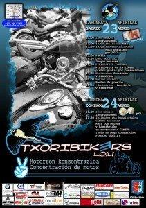 Cartel concentración Txoribikers Loiu 2016